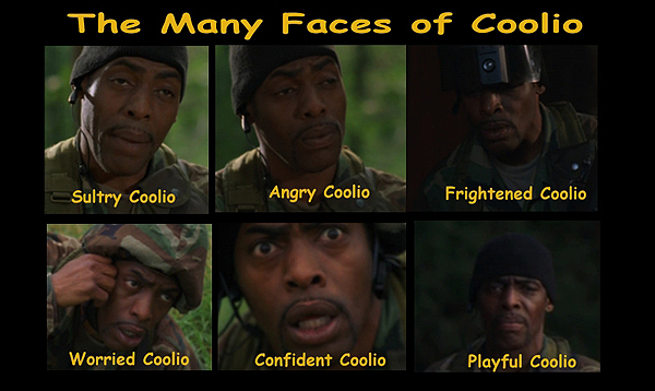 Many Faces of Coolio